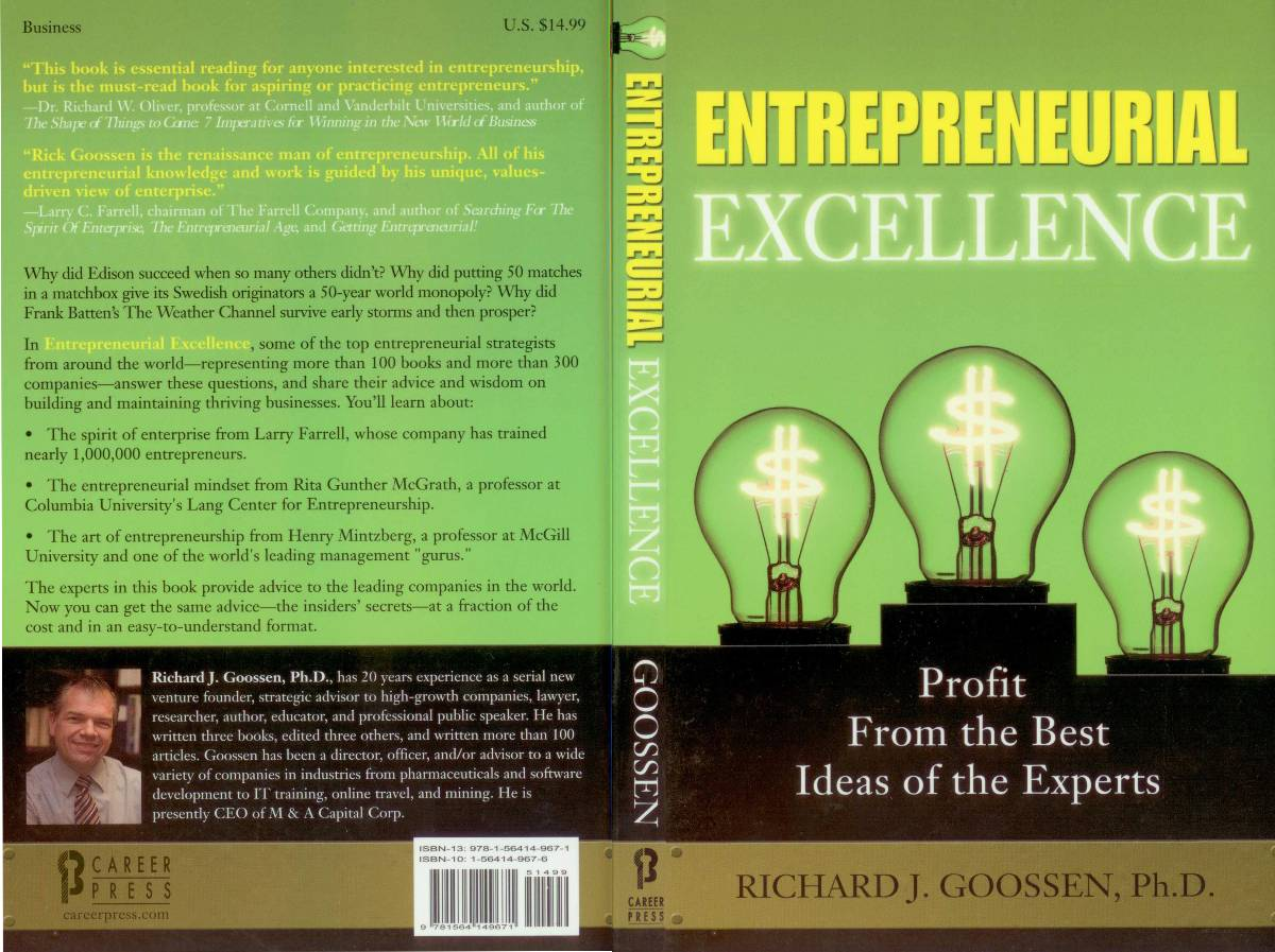 General - entrepreneurial excellence